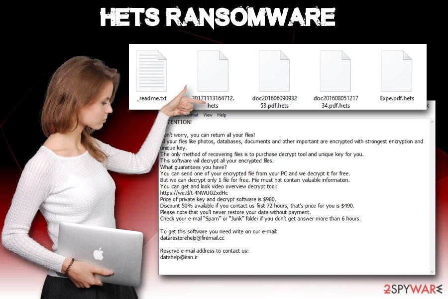 Hets ransomware virus