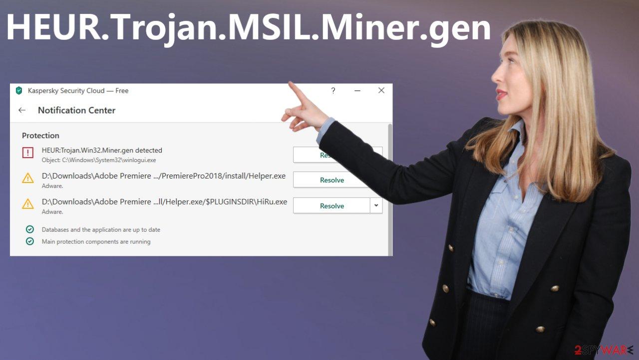 HEUR.Trojan.MSIL.Miner.gen virus