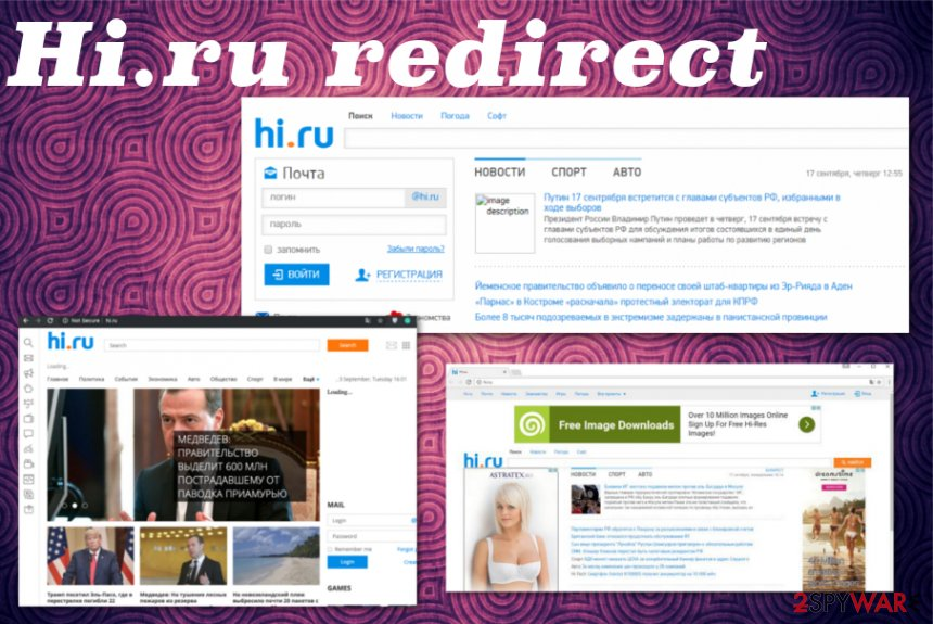Hi.ru redirect