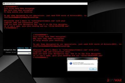 HiddenBeer ransomware virus
