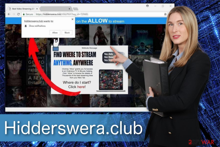 Hidderswera.club illustration
