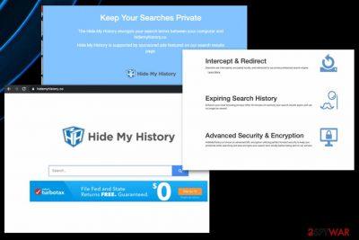 Hide My History virus