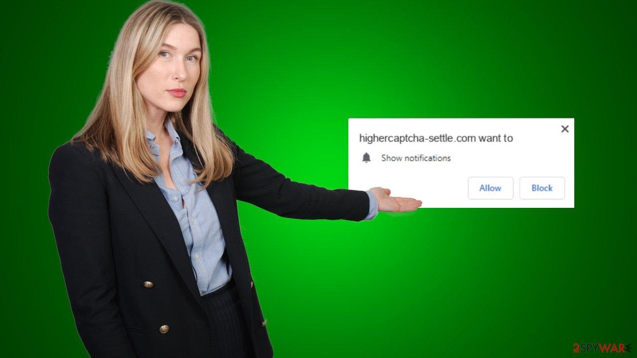 Higher Captcha-Settle notifications