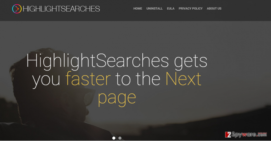 HighlightSearches ads