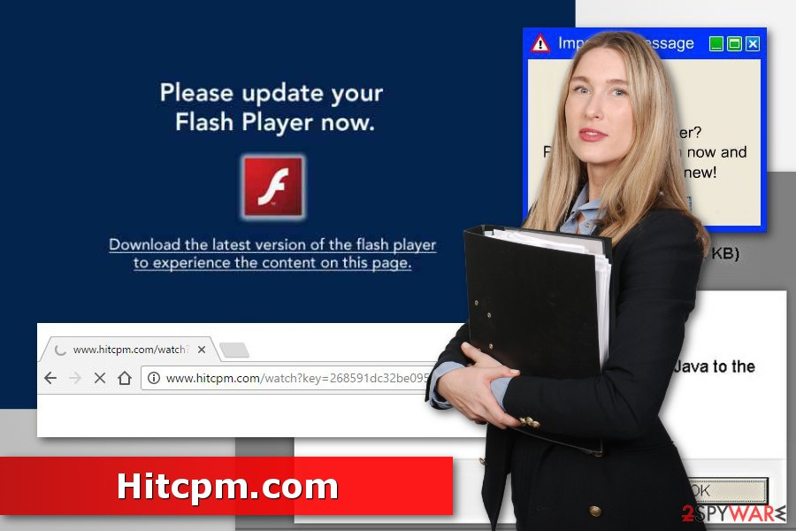 Picture of Hitcpm.com adware