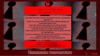 Hmmmmm ransomware
