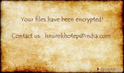 The image of hnumkhotpe@india.com virus