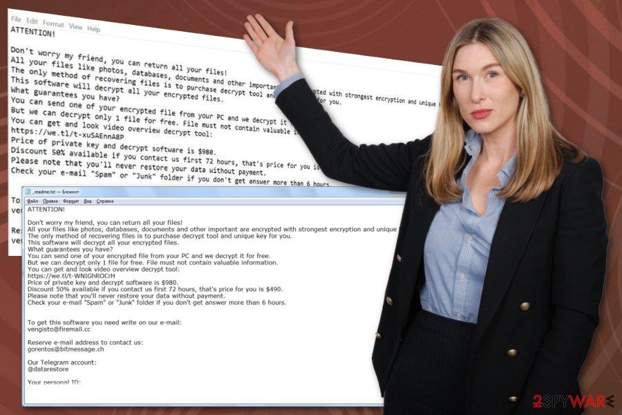 Hofos ransomware virus
