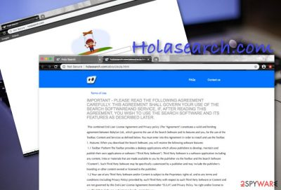 Hola search engine