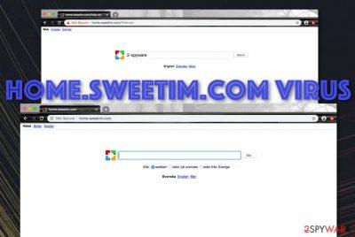 Home.sweetim.com potentially unwanted program