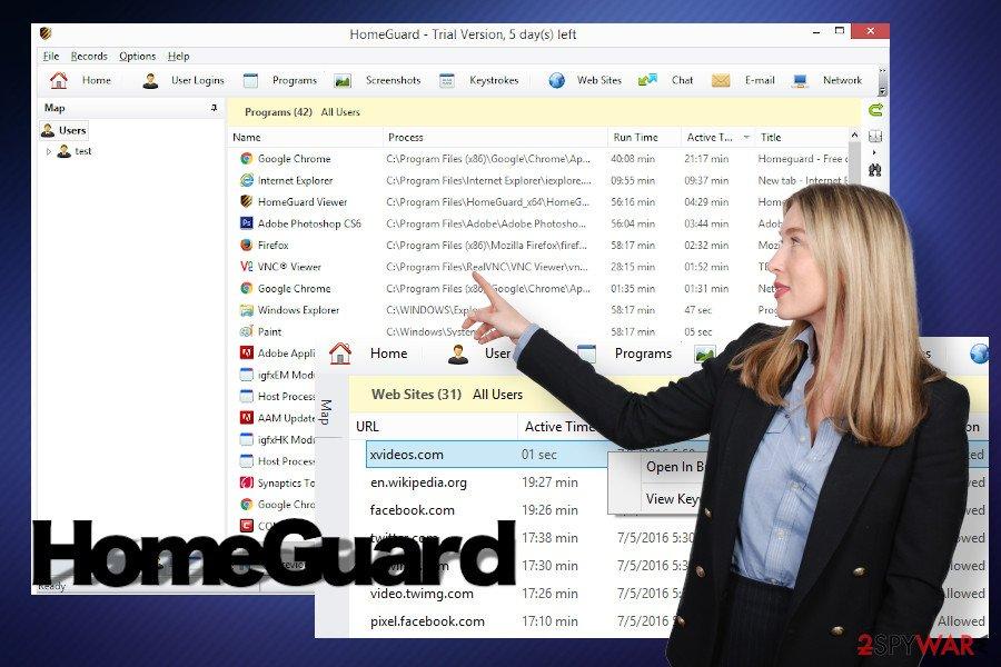 HomeGuard scanner