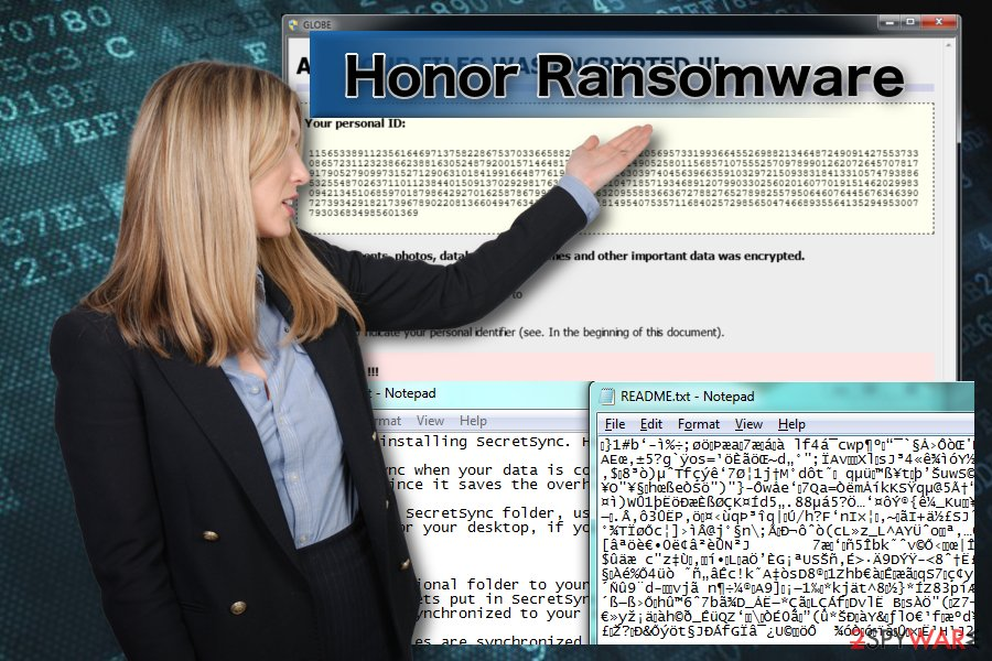 Honor Ransomware elimination tutorial