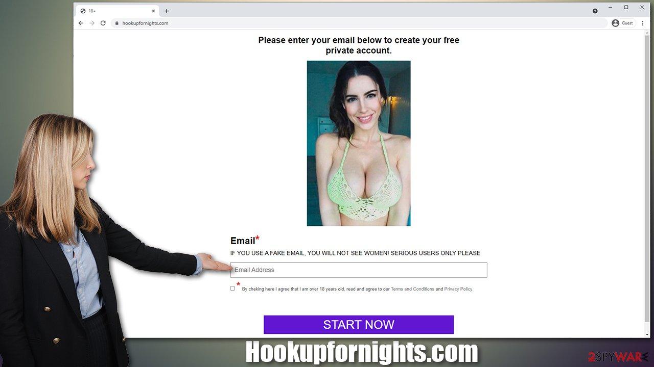 Hookupfornights.com pop-ups