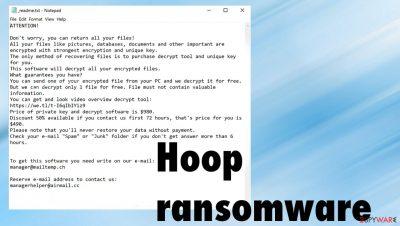 Hoop ransomware