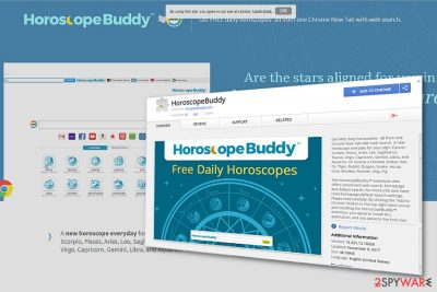 The picture illustrating Horoscope Buddy Toolbar