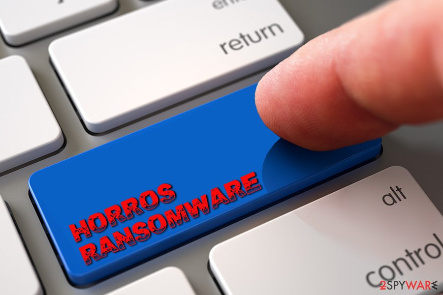Horros ransomware