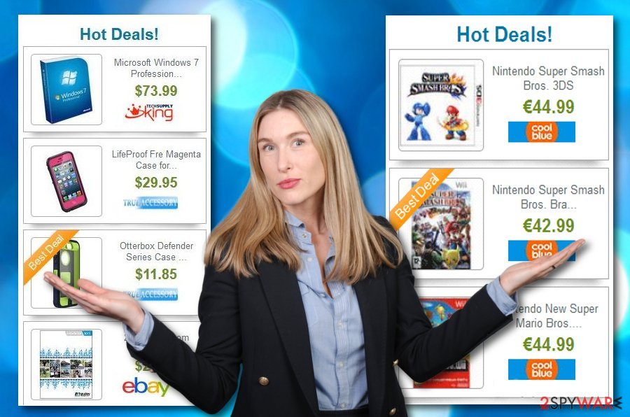 Hot Deals virus