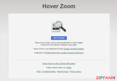 Hover Zoom virus