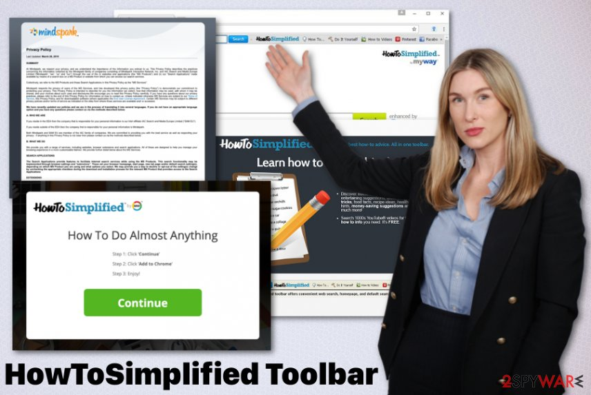 HowToSimplified Toolbar PUP