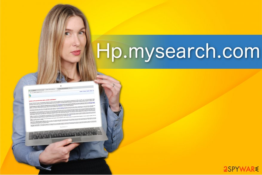 The image of Hp.mysearch.com
