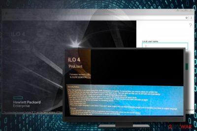 HPE iLO ransomware virus