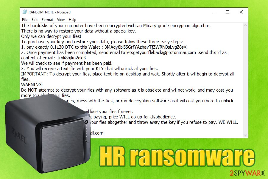 HR ransomware