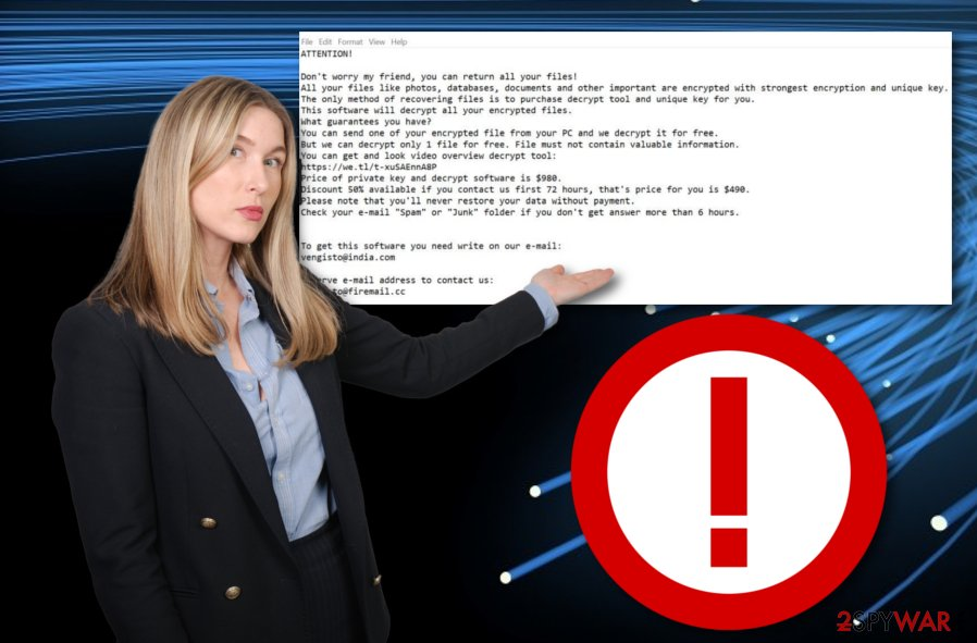 Hrosas ransomware virus