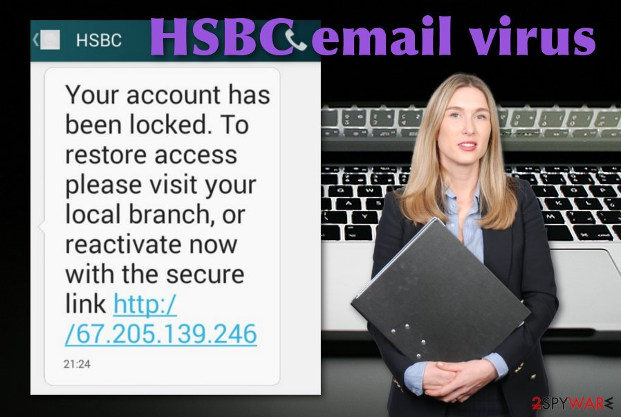 HSBC spam