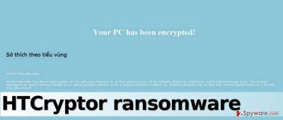 HTCryptor ransomware