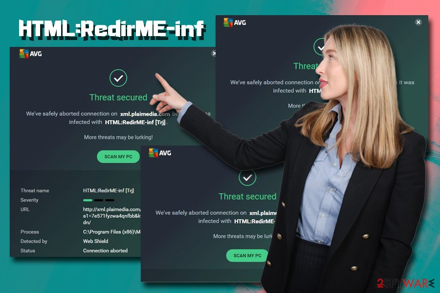 HTML:RedirME-inf trojan