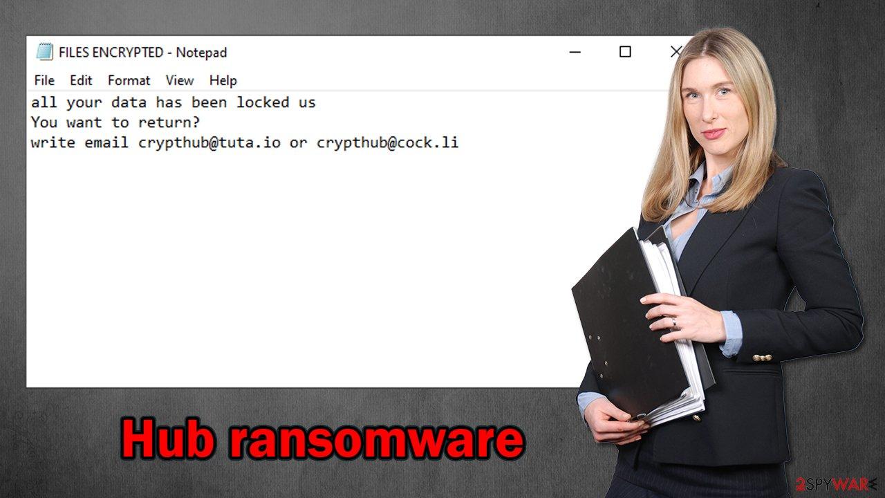 Hub ransomware virus