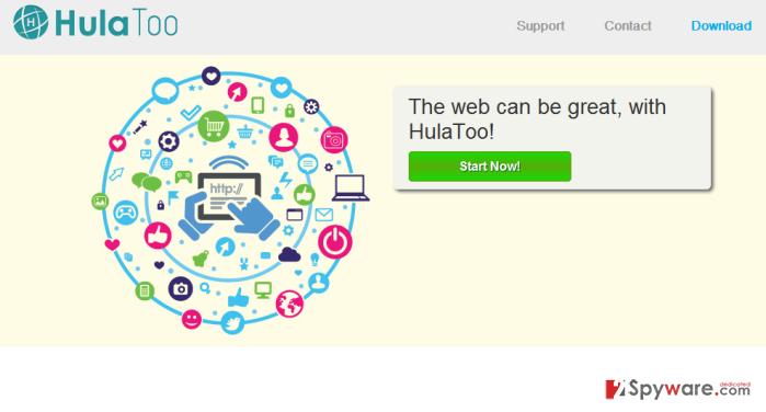 HulaToo Deals and HulaToo Ads snapshot