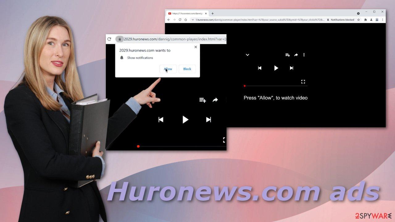 Huronews.com ads