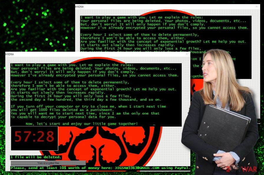 Hydra ransomware