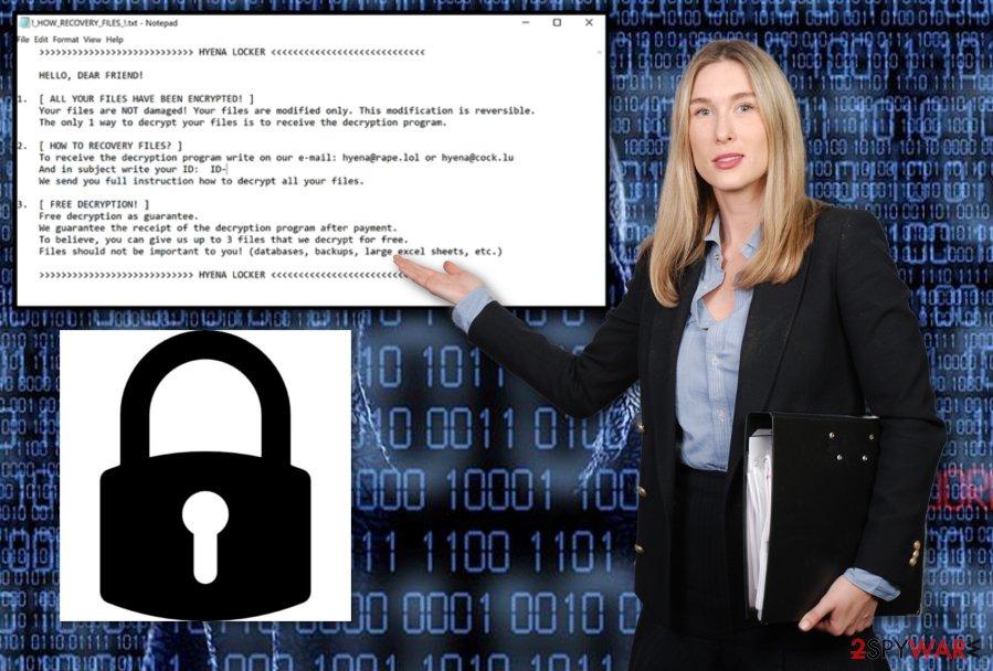 Hyena Locker ransomware