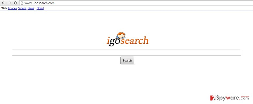 I-gosearch.com virus