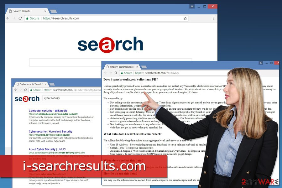 Image of i-searchresults.com virus