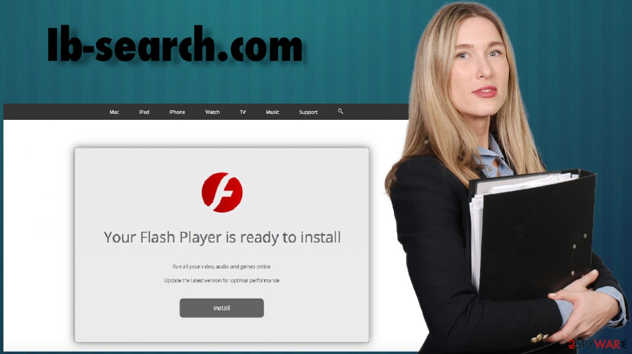 Ib-search.com virus