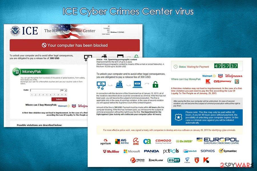 ICE virus