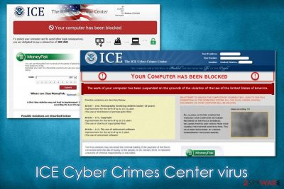 ICE Cyber Crimes Center virus