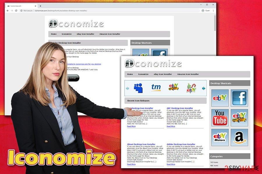 Iconomize ads