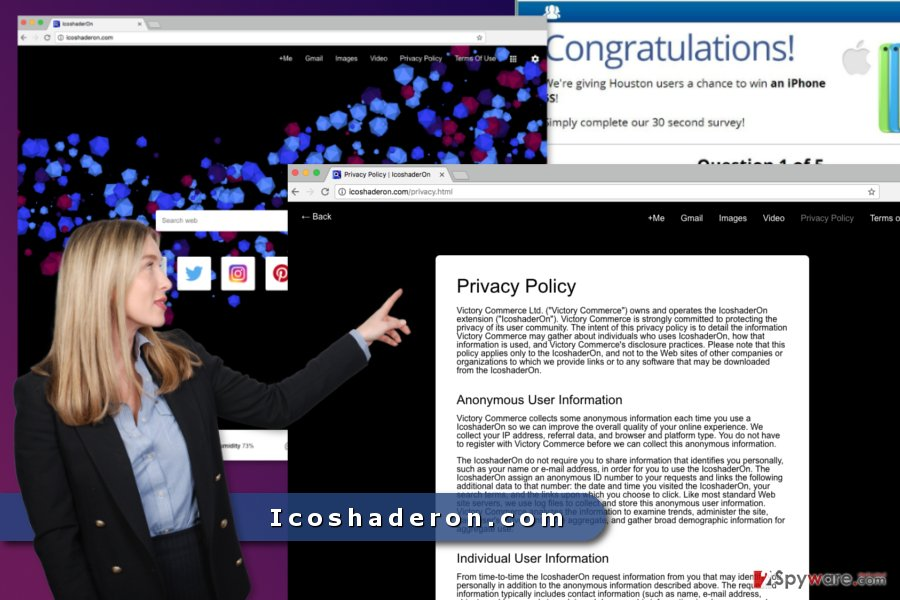 The image of Icoshaderon.com virus