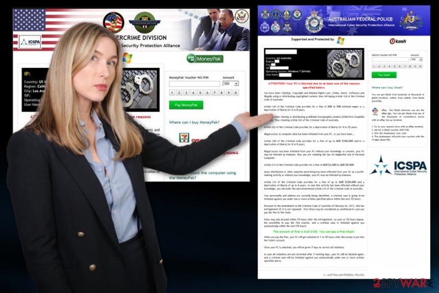 ICSPA ransomware virus