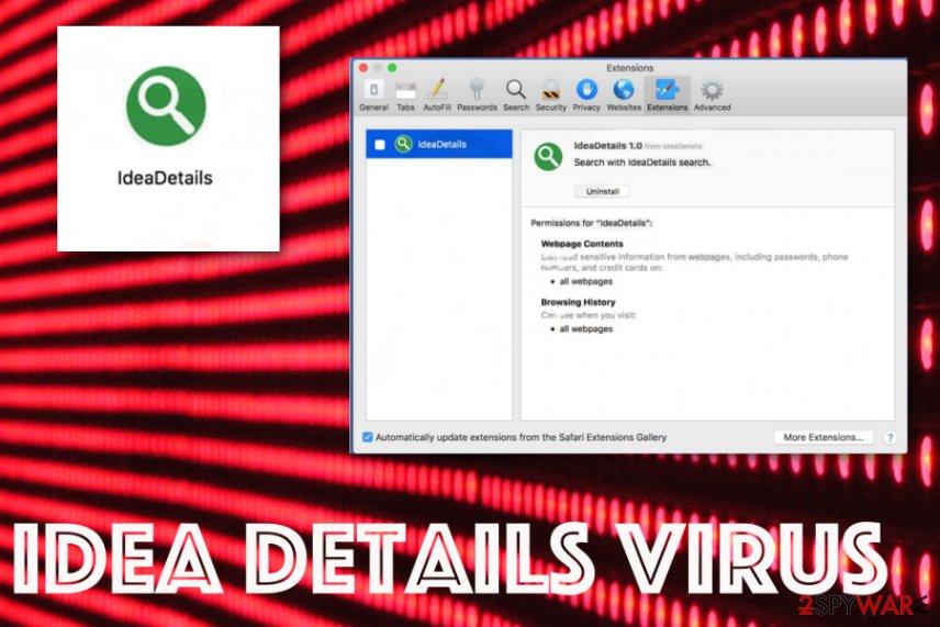 Idea Details virus