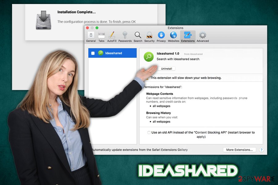 IdeaShared adware