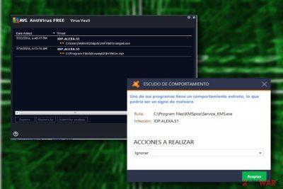 Idp.alexa.51 AVG detection name