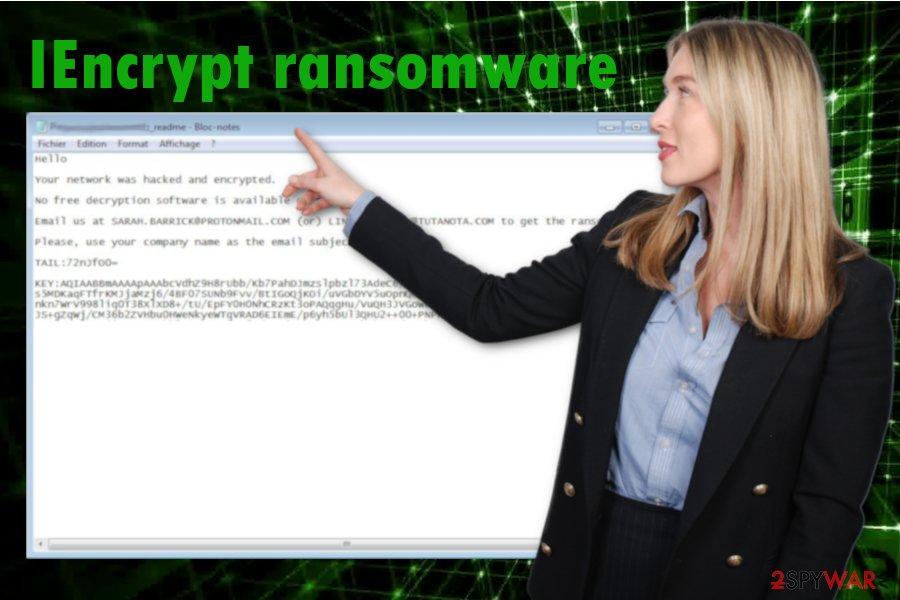 IEncrypt ransomware virus