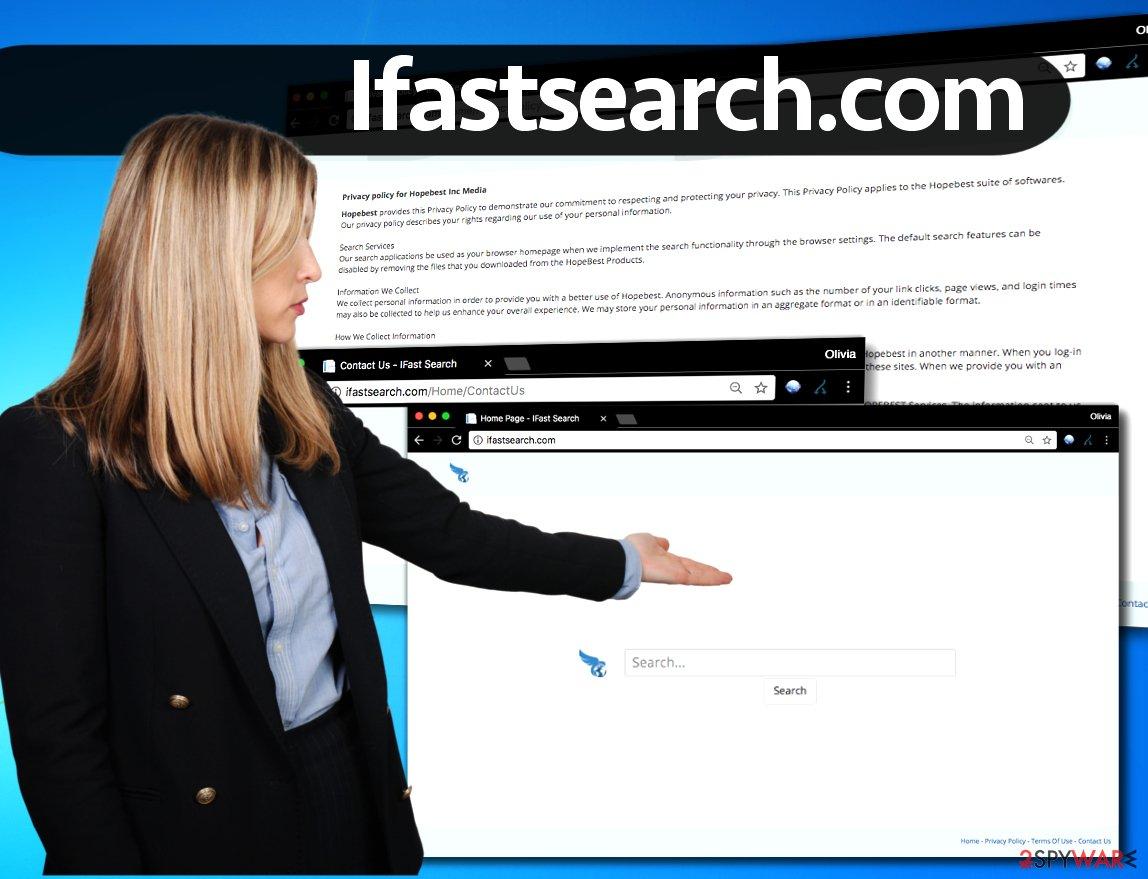 Ifastsearch.com redirect virus