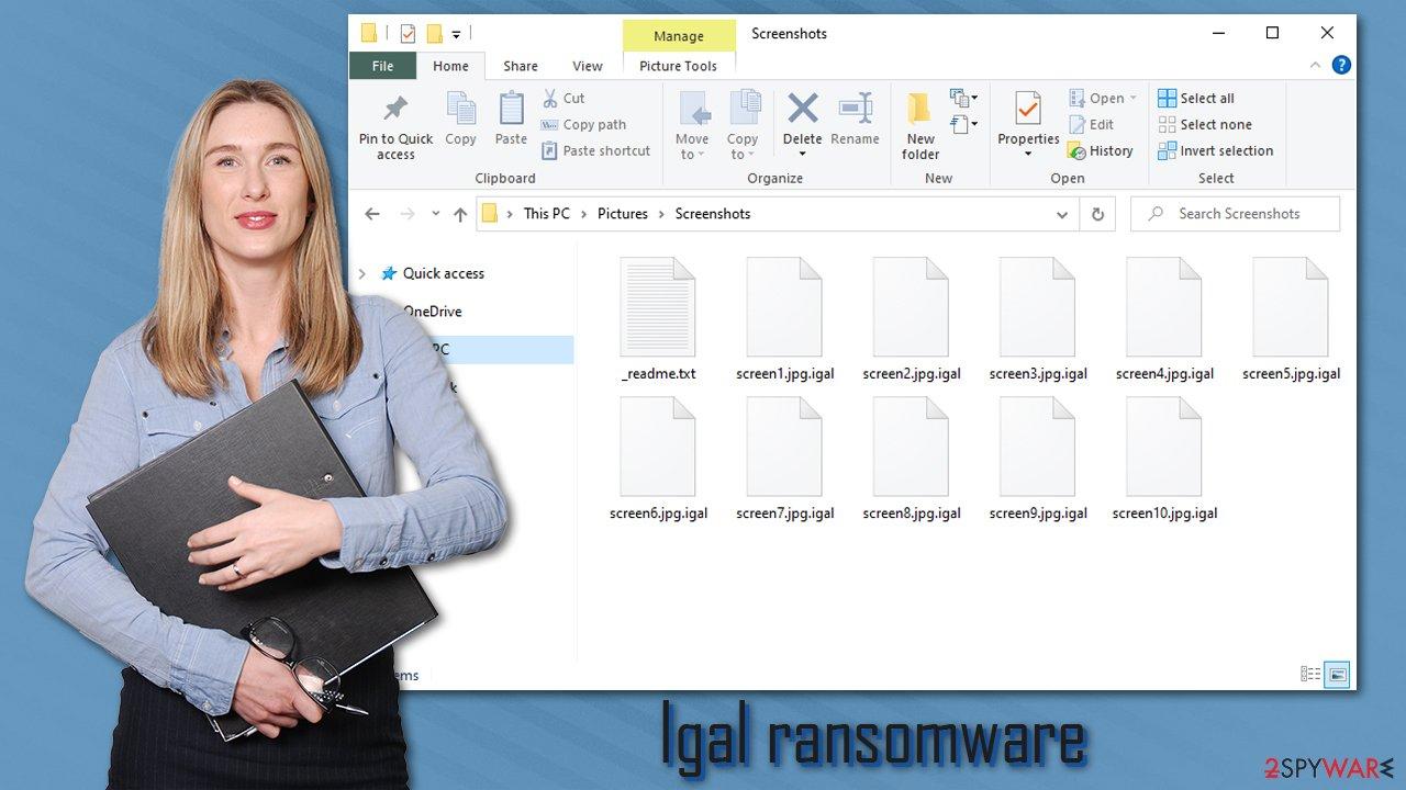 Igal ransomware virus