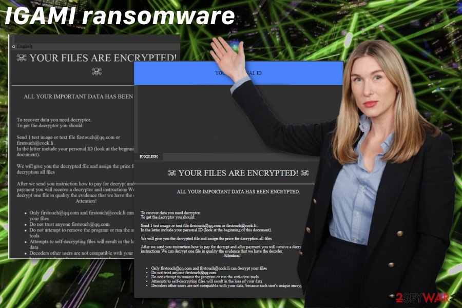 IGAMI ransomware virus